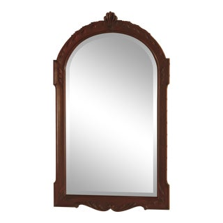 Henkel Harris Model H-30 Beveled Glass Mahogany Mirror For Sale