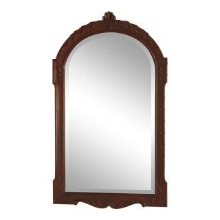 Henkel Harris Model H-30 Beveled Glass Mahogany Mirror