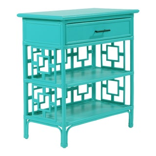Sobe End Table - Turquoise For Sale
