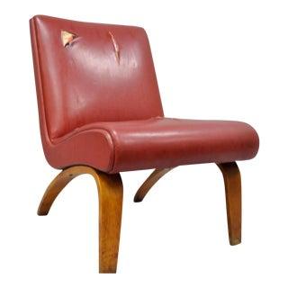 Thonet Mid Century Modern Bentwood Modernist Club Chair