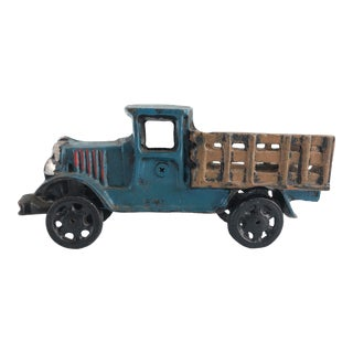 Vintage Hubley Cast Iron Truck For Sale