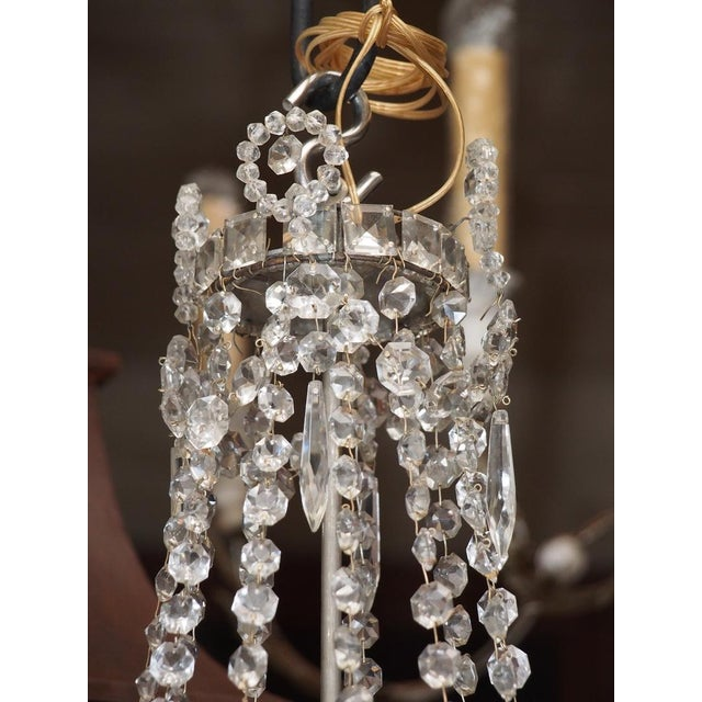 Mid 19th Century Early 19th Century French Crystal Chandelier For Sale - Image 5 of 6