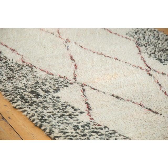 "Vintage Moroccan Carpet - 5'6"" X 8'3"" - Image 3 of 10"