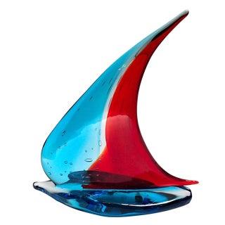 Sailboat Sculpture by Sergio Constantini For Sale