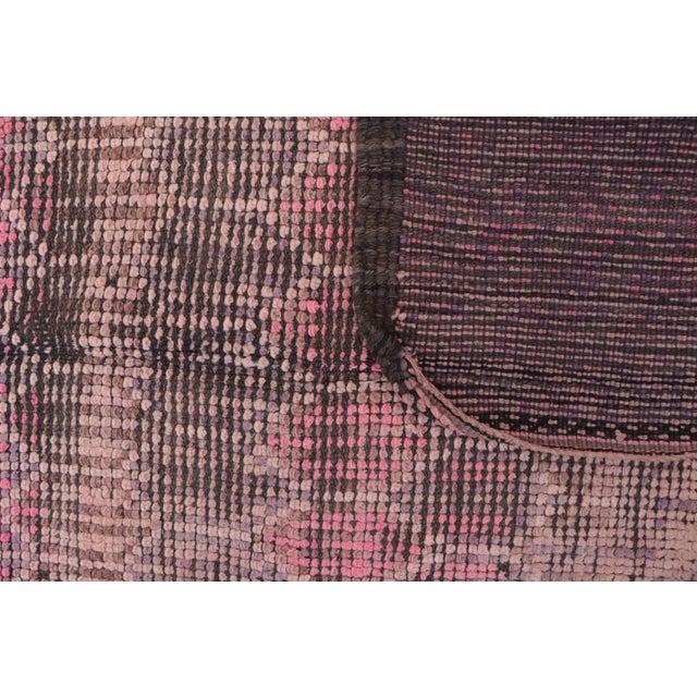 "Vintage Boujad Moroccan Rug - 4'11"" x 9'4"" - Image 4 of 4"