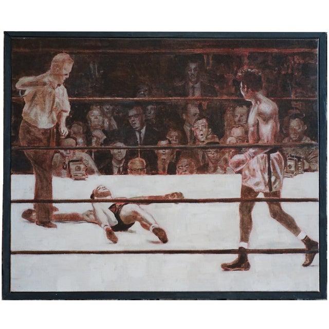 Robinson KOs Fullmer by Robert Landry - Image 1 of 4