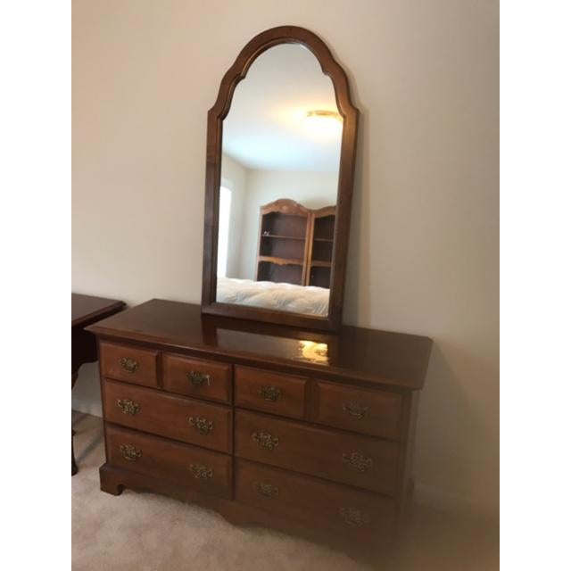 Stanley Furniture - dresser with mirror. This piece is part of a bedroom set I am selling, Please see my other listings if...
