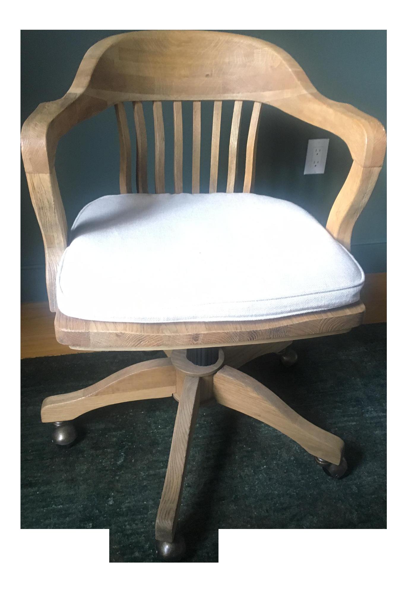 Restoration Hardware 1940s Banker S Chair Chairish