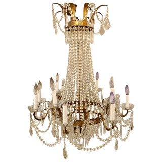 Niermann Weeks Original Campaign Chandelier For Sale