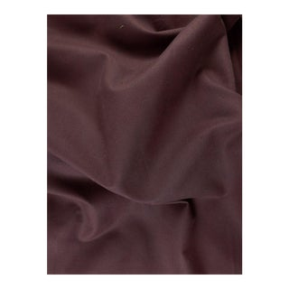 Heavy Cotton Solid Eggplant Fabric - 8 Yards