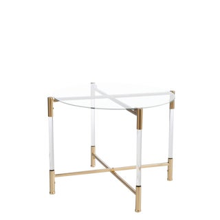 Statements By J Acrylic End Table