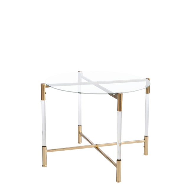 Statements By J Acrylic End Table - Image 1 of 2