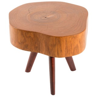 Unique Signed Side Table by Jörg Pietschmann For Sale