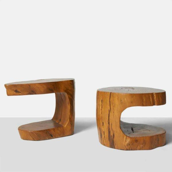 Pair of Side Tables by Hugo Franca For Sale - Image 9 of 9