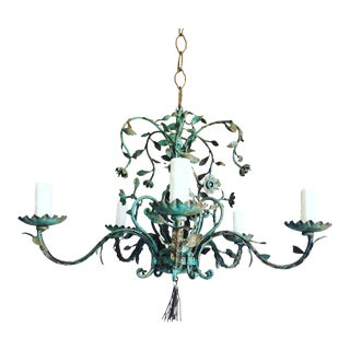 1950s Italian Garden Chandelier For Sale