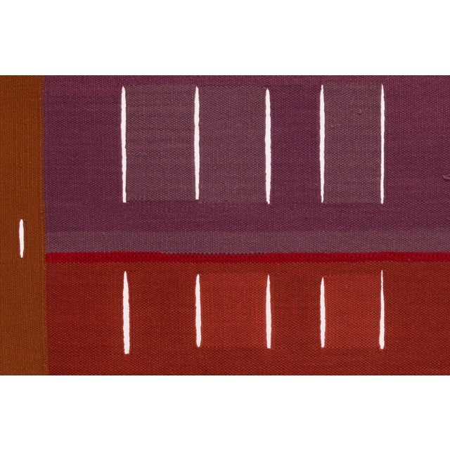 Abstract Alice Kagawa Parrott Santa Fe Wall Weaving For Sale - Image 3 of 8