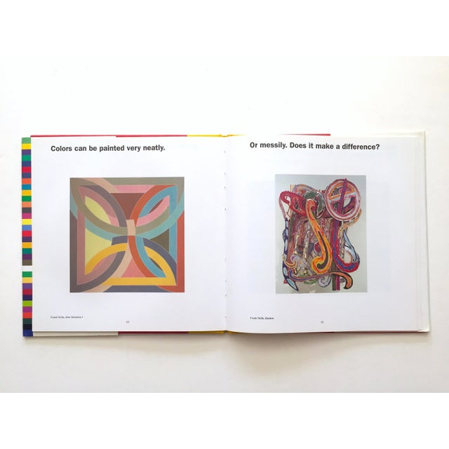 """This set of three """" Colors, Shapes, Lines """" rare vintage 1991 first edition Museum of Modern Art children's art books is a..."""