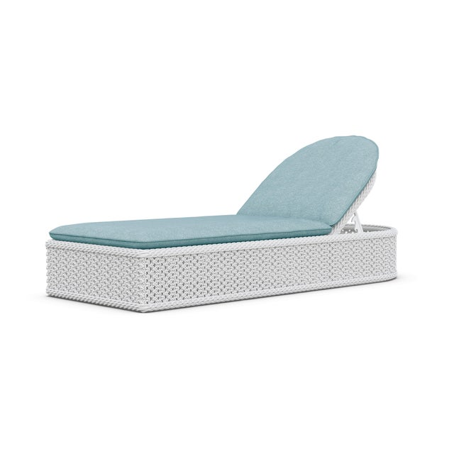 Not Yet Made - Made To Order Montauk Lounge Chair in Pearl Gray with Haze Cushions For Sale - Image 5 of 5