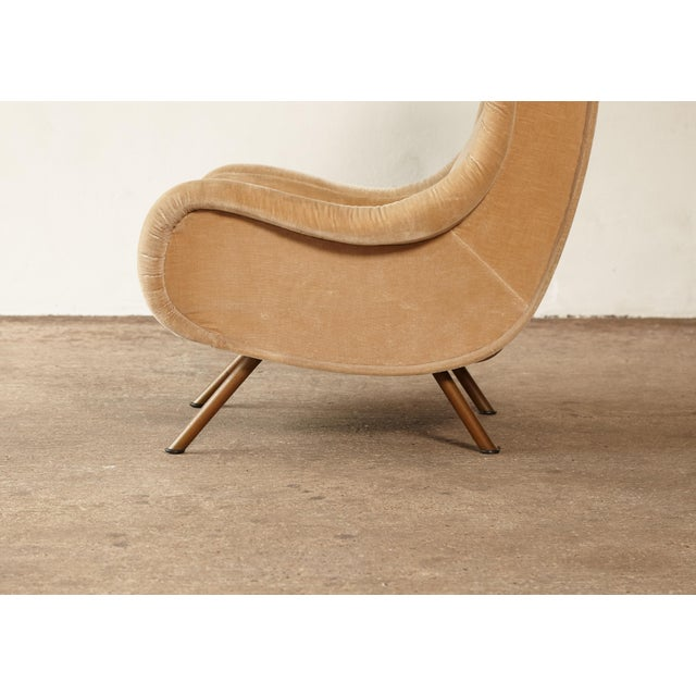 1960s Mid-Century Modern Marco Zanuso for Arflex Senior Chair For Sale - Image 10 of 12