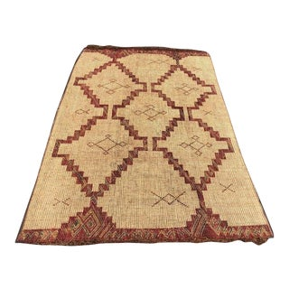 Mauritanian Nomad Reed Mat - 5′1″ × 8′2″ For Sale