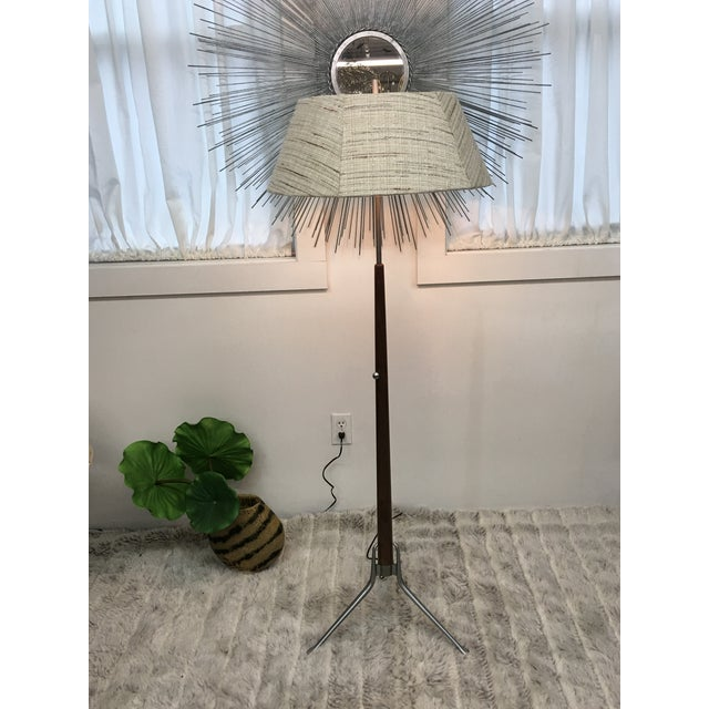 Mid Century Modern Gerald Thurston Floor Lamp For Sale - Image 11 of 12