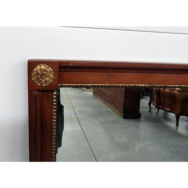 Hollywood Regency Kindel Furniture Belvedere Regency Style Wall Mirror For Sale - Image 3 of 7