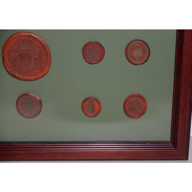 Mid 19th Century Fine Collection of 19th Century Wax Seals For Sale - Image 5 of 12