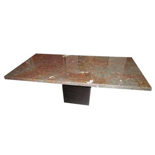 Italian Contemporary Stone Dining Table For Sale