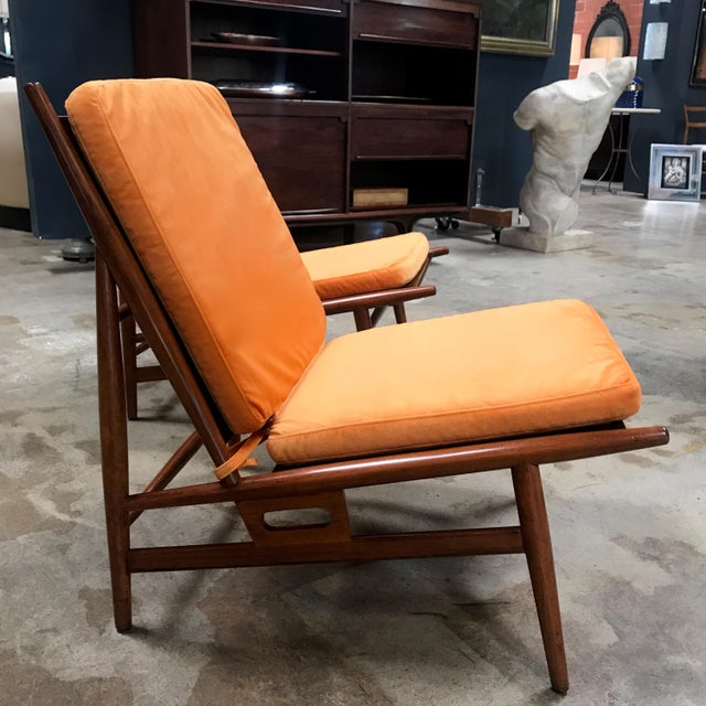 Arredamenti ISA Pair of ISA Italian Club Chairs For Sale - Image 4 of 10
