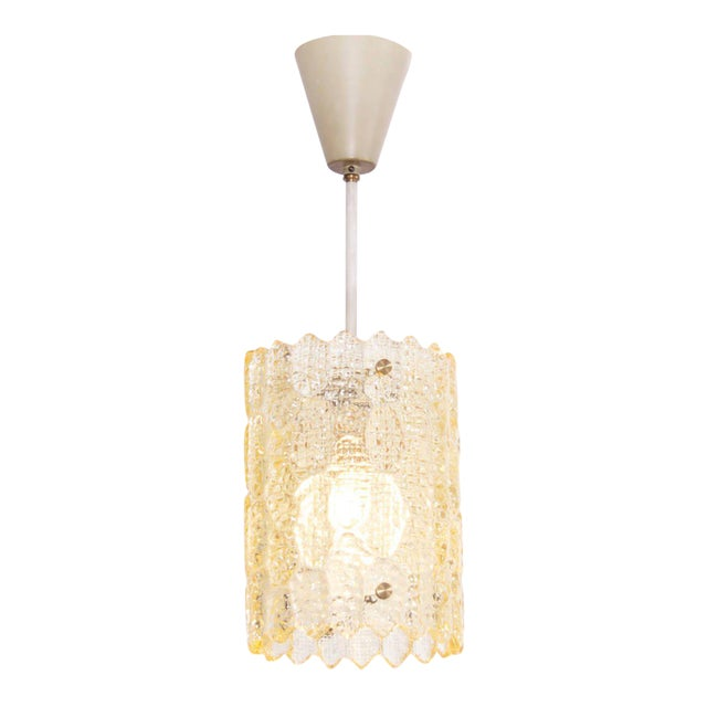 Pendant Light by Carl Fagerlund for Orrefors For Sale