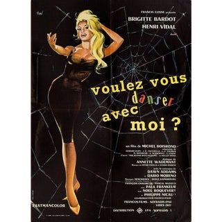 Come Dance with Me! 1959 French Moyenne Film Poster For Sale