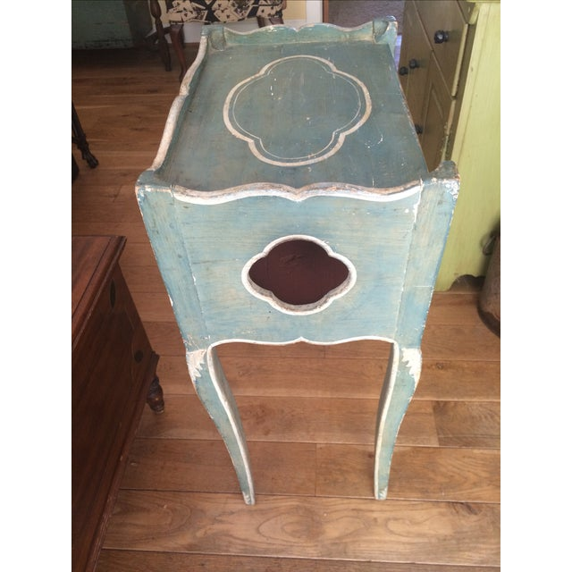 Antique French Country Side Table - Image 4 of 5