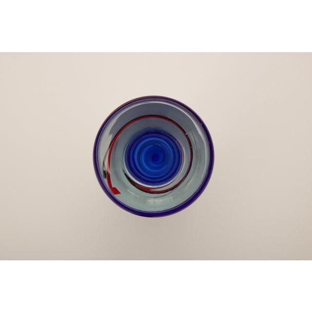 Modern Czech Art Glass Vase - Image 5 of 7