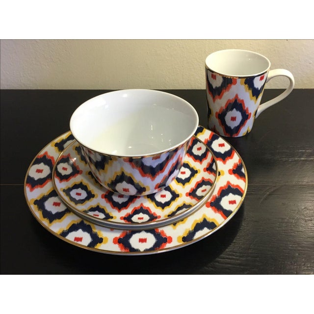 C. Wonder Multicolor Ikat Mugs - Set of 6 - Image 6 of 6