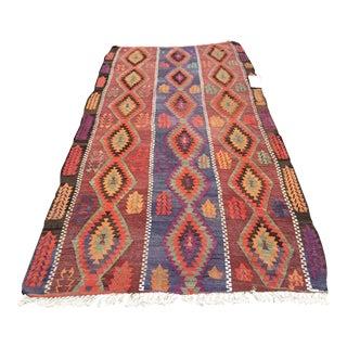 Vintage Turkish Kilm Rug