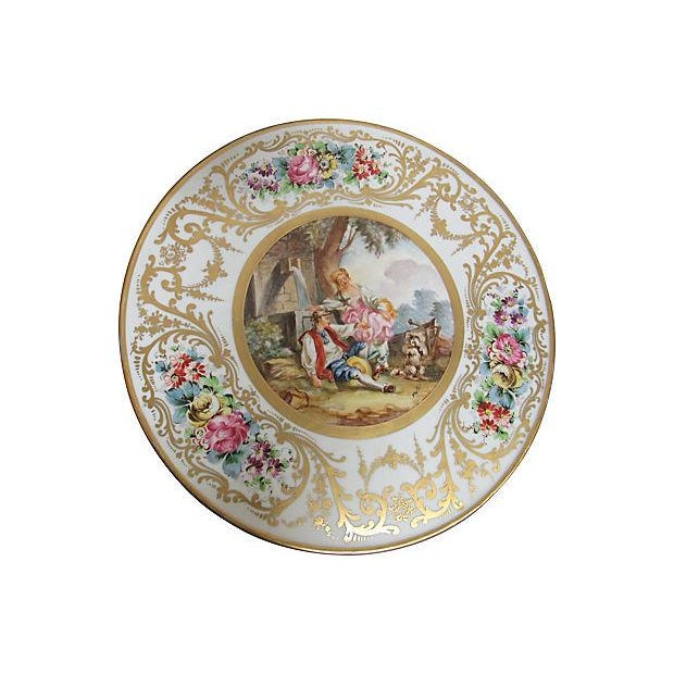 French Sevres Style Tables - A Pair - Image 4 of 7