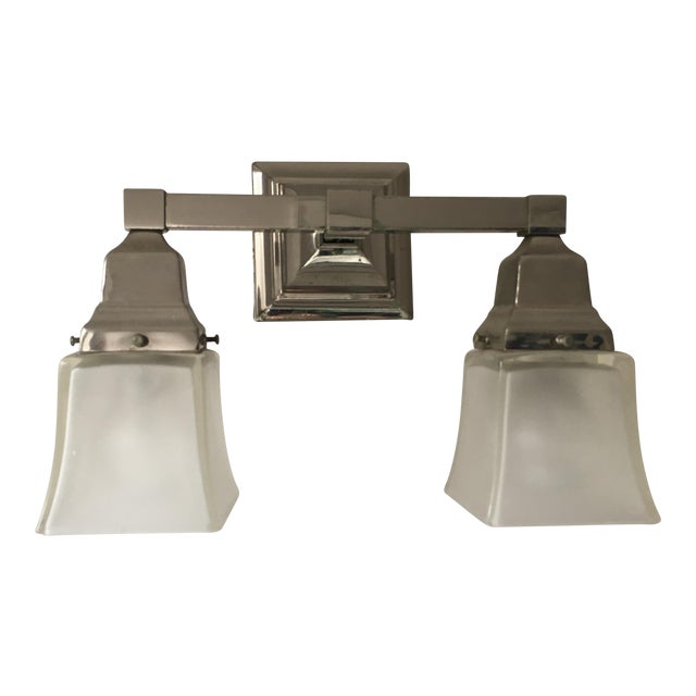 Urban Archeology Town Double Shade Sconce For Sale