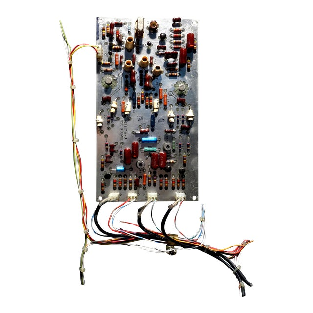 Mid Century Component Art Vintage Circuitry Wall Sculpture / Collage. Bill Reiter For Sale