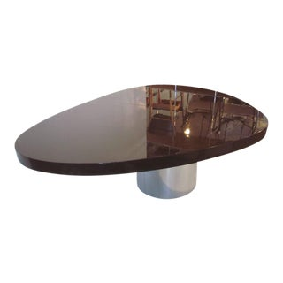 Paul Evans Directional Elliptical Dining or Conference Table