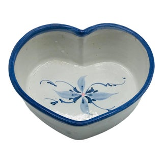 Heart Shaped Hand Thrown Bowl For Sale
