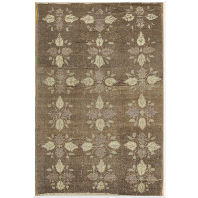 Small Vintage Handmade Rug - 3′5″ × 5′5″ - Image 1 of 5
