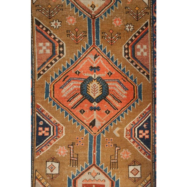 """Antique Serab Runner - 41"""" x 122"""" For Sale - Image 4 of 5"""