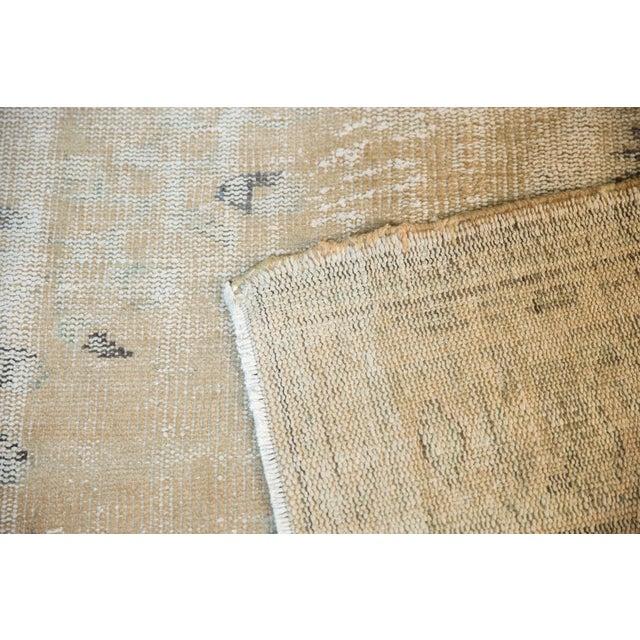 "Tan Vintage Distressed Oushak Carpet - 7'2"" X 10'1"" For Sale - Image 8 of 13"