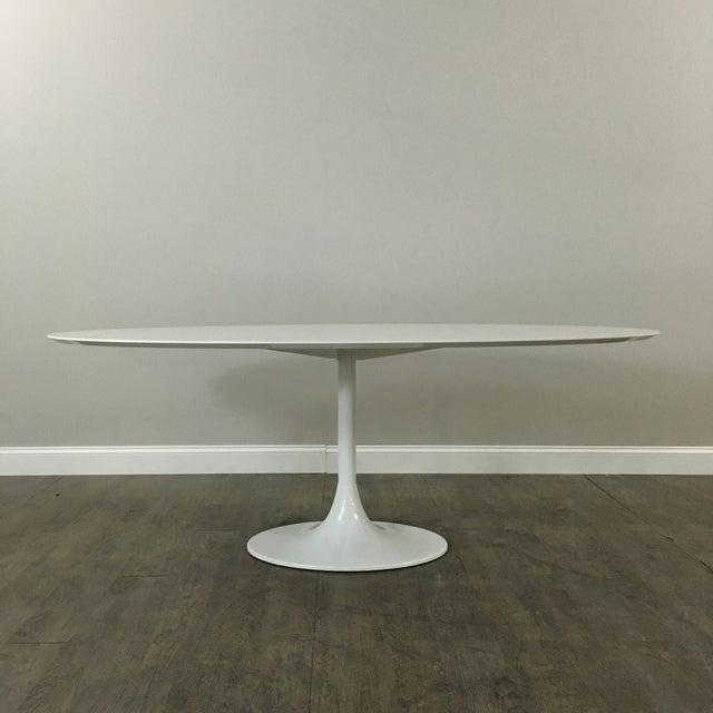 Saarinen-Style Tulip Dining Table by Domitalia - Image 4 of 7