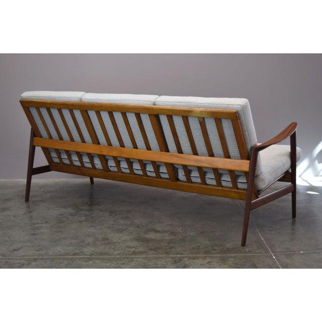1960s Danish Modern Adolf Relling for Dokka Restored Sofa For Sale - Image 5 of 11