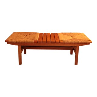 Mid-Century Bench by Afm Furniture, Japan For Sale