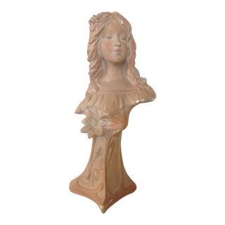 Antique Art Nouveau Statue For Sale