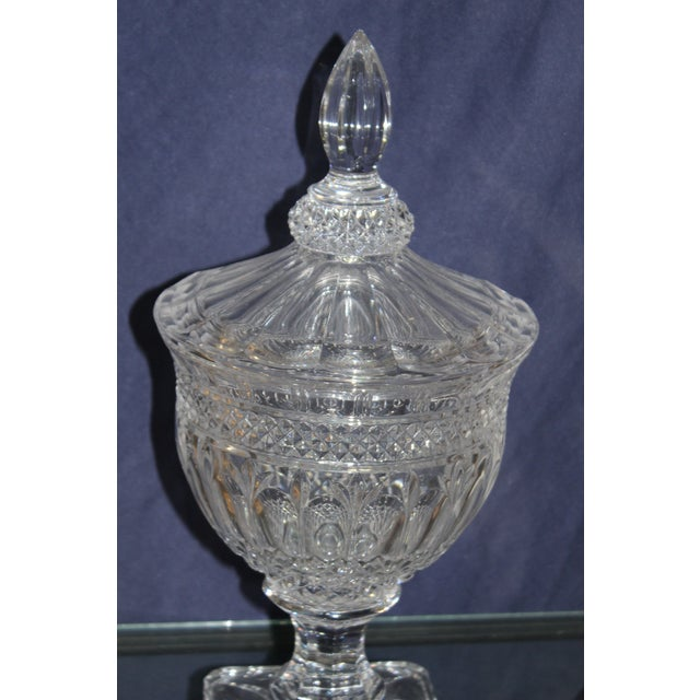 Irish Crystal Candy Dishes- A Pair For Sale - Image 4 of 7