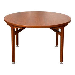 Walnut Dining Table by Jens Risom For Sale