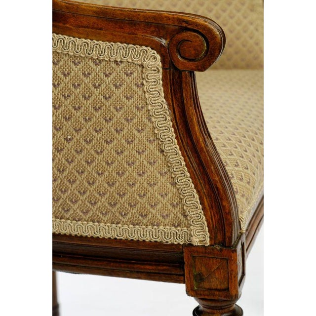 Mid 19th Century Child Size Louis XVI Bergere For Sale - Image 5 of 8